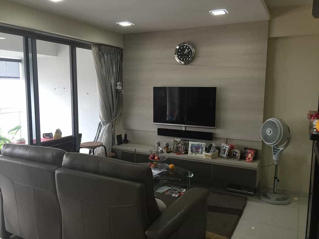 home renovation at Toa Payoh